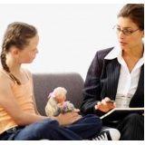 terapia infantil preço na Sé